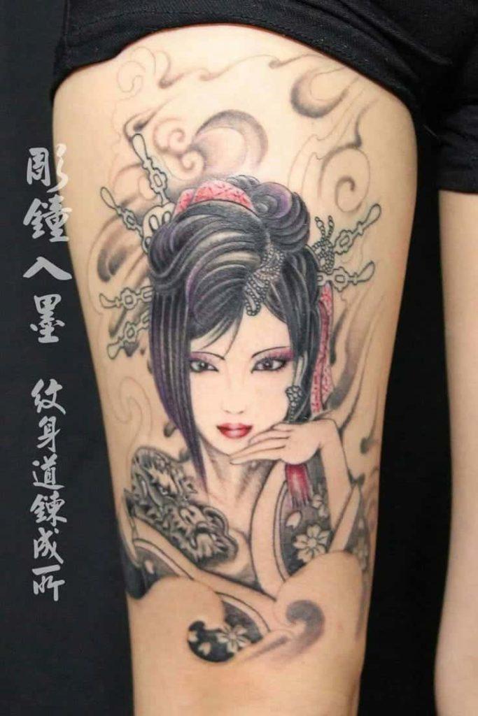 Tattoo cara para garotas 45963